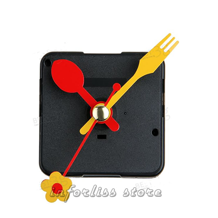 Mecanismo para reloj de pared modelo tenedor y cuchara - Mecanismo reloj pared ...